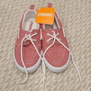 Boys Gymboree Red Boat Shoes